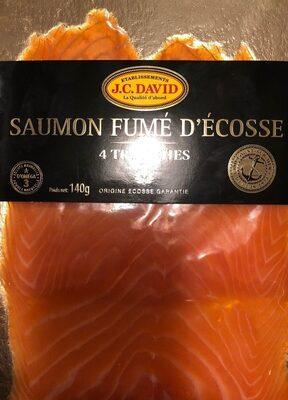 Saumon fumé à l'ancienne des Lochs d'Ecosse JC DAVID - Product