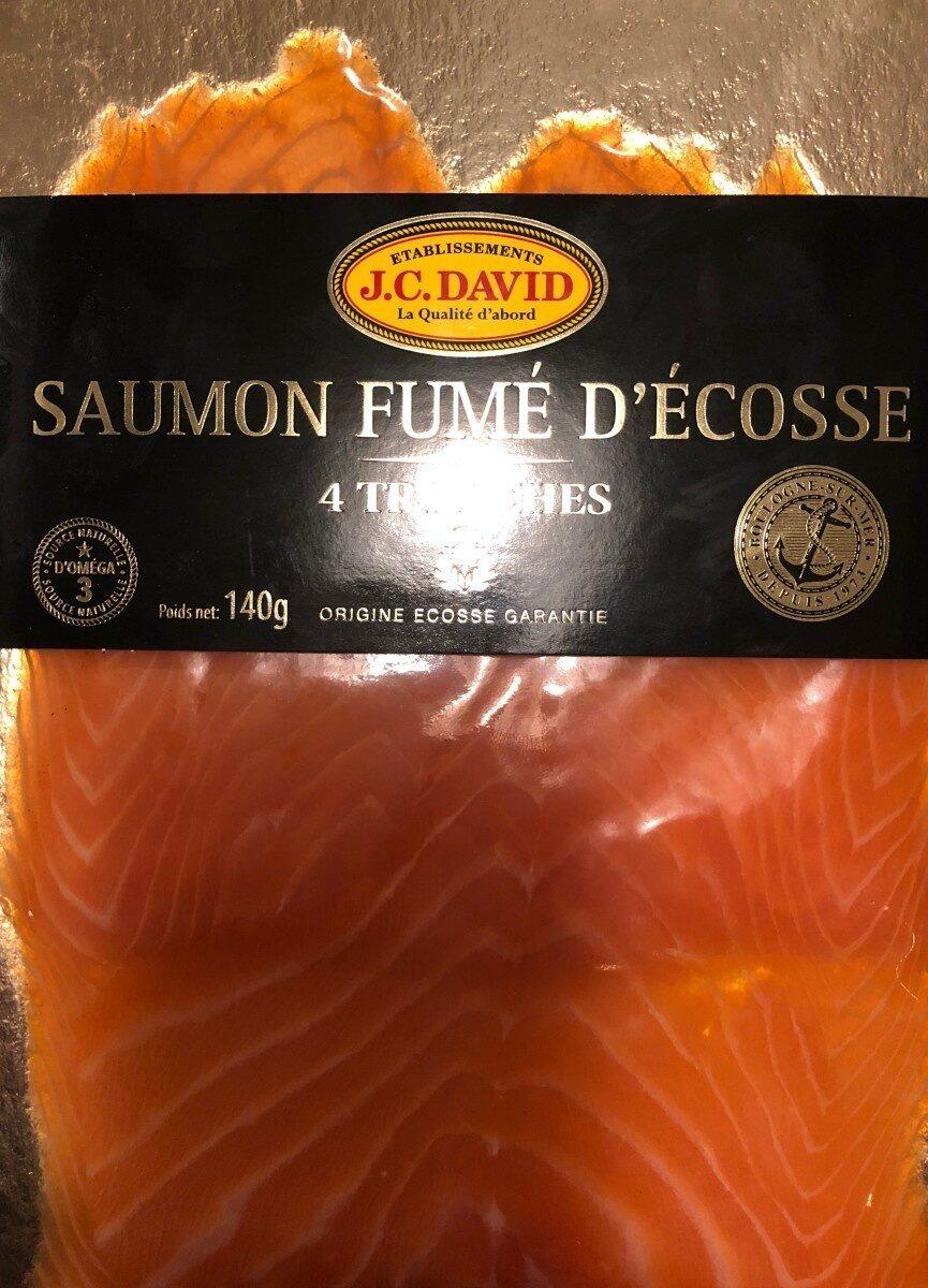 Saumon fumé à l'ancienne des Lochs d'Ecosse JC DAVID - Product - fr