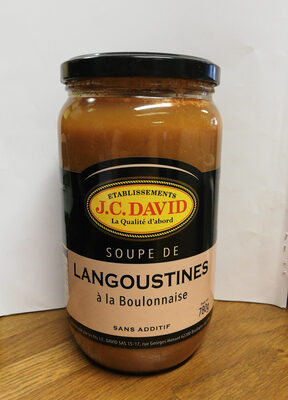 Soupe de Langoustines à la Boulonnaise - Produit