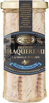 Filets de Maquereau à l'huile d'olive - Produit