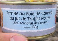 Terrine au foie de canard au jus de truffes noires - Produit - fr