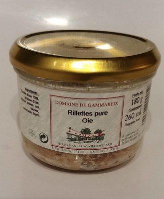 Rillettes pure oie - Produit