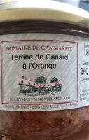 Terrine de canard à l'orange - Produit - fr