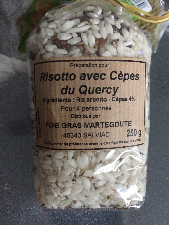 Préparation pour Risotto avec Cèpes du Quercy - Produit