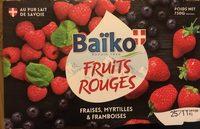 Fruits rouges : Fraise - Framboise - Myrtille - Product