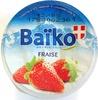 Yaourt sur lit de fruits à la fraise - Product