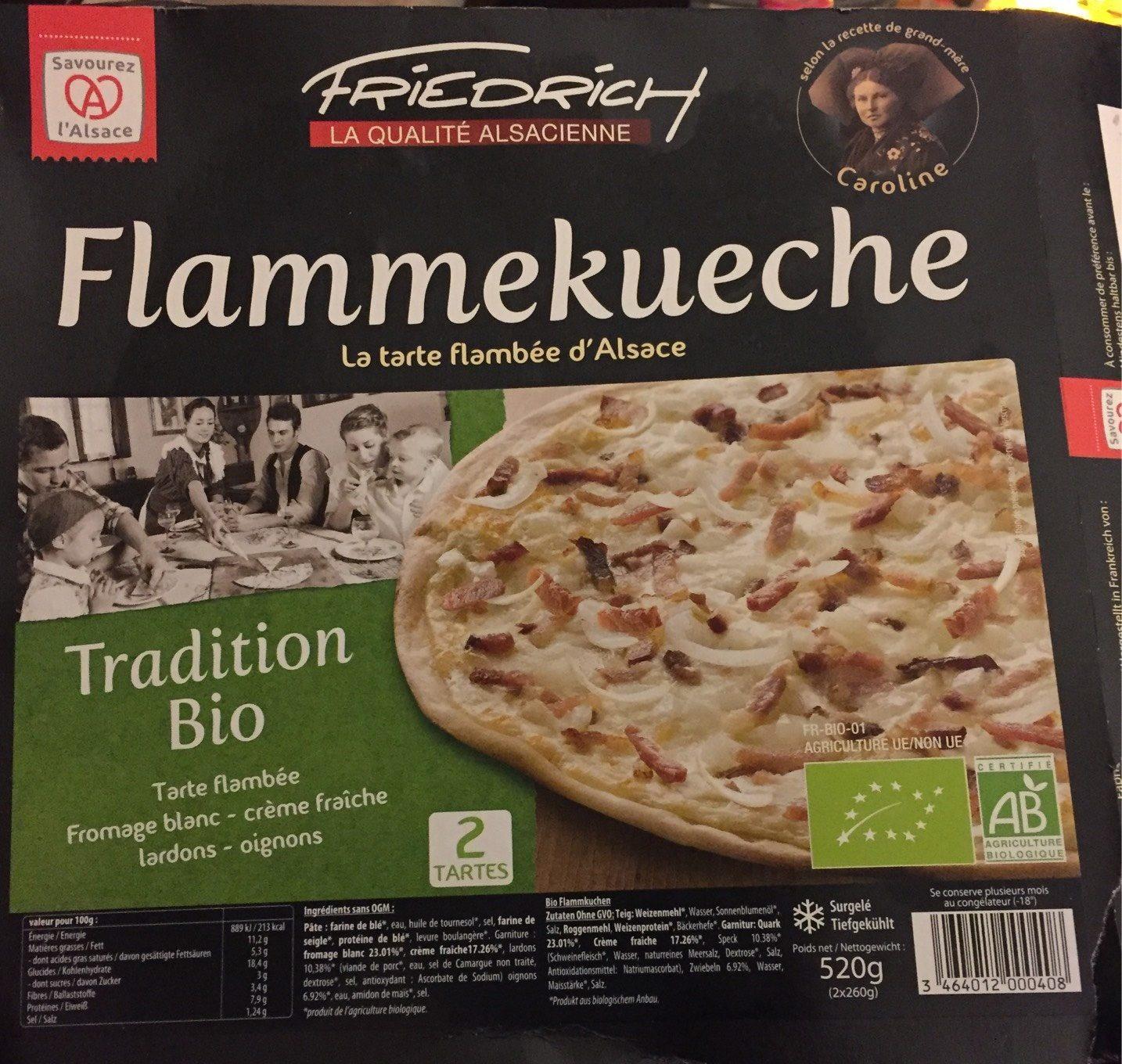 Tartes Flambées d'Alsace - Flammekueche Tradition - Product - fr