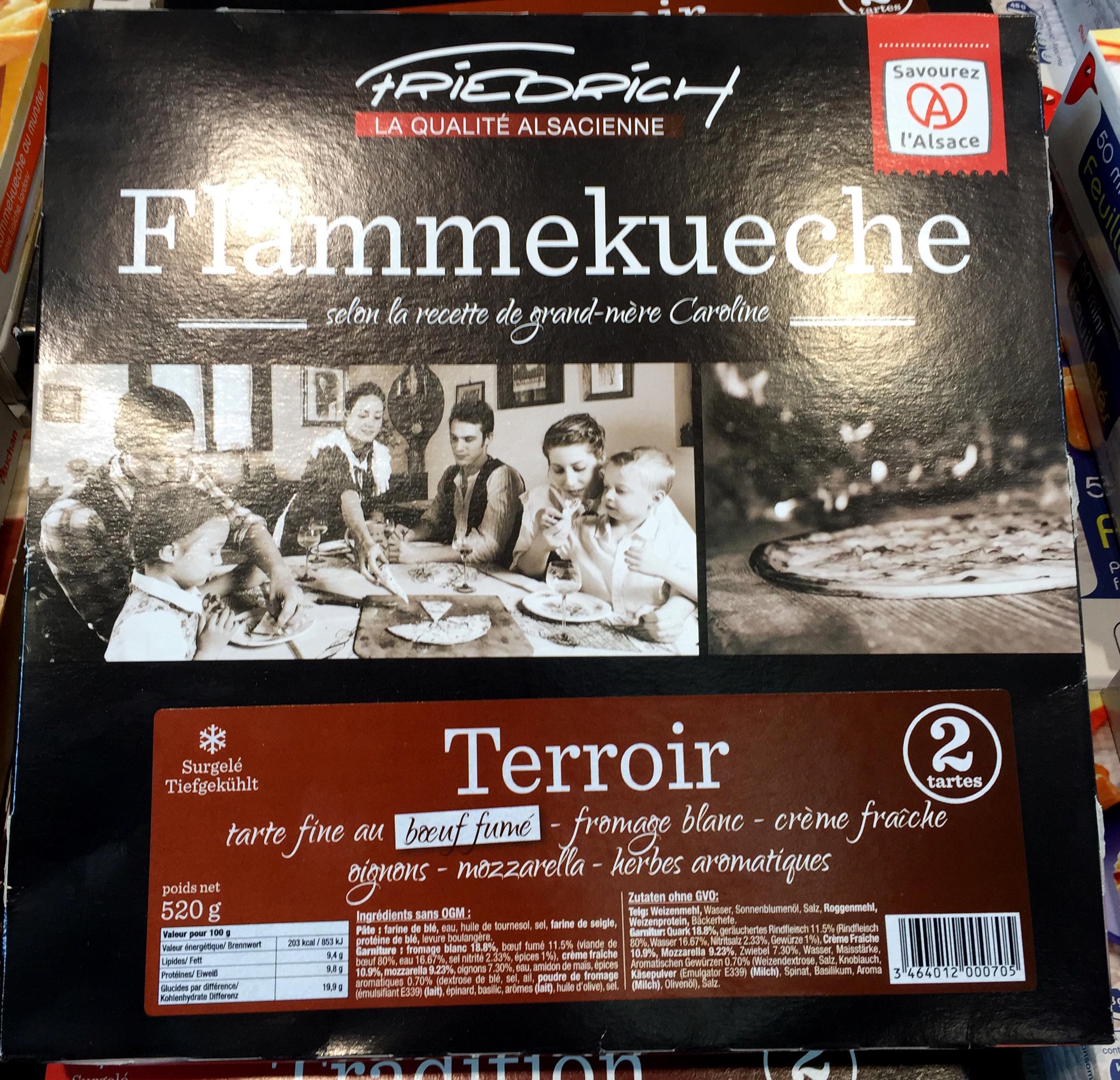 Flammekueche Terroir - Produit - fr