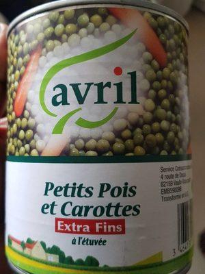Petit pois & carotte - Produit