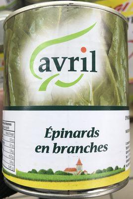 Épinards en branches - Produit - fr
