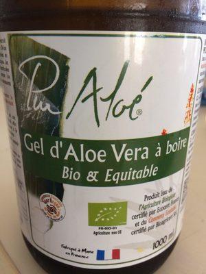 Gel d'Aloe Vera à boire - Product - fr