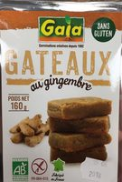 160G Ginger Cake Au Gingembre - Product - fr