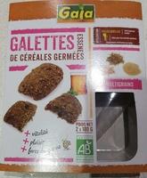 Galettes de céréales germées - Product