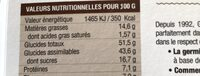 Galettes de céréales germées - Ingrediënten