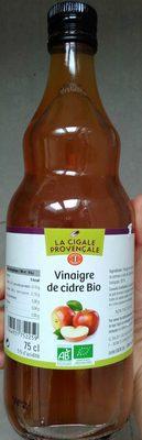 Vinaigre de cidre bio - Produit - fr