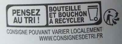 Vinaigre de cidre bio - Instruction de recyclage et/ou information d'emballage - fr
