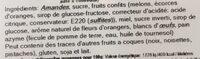 Calisson de provence - Ingredients - fr