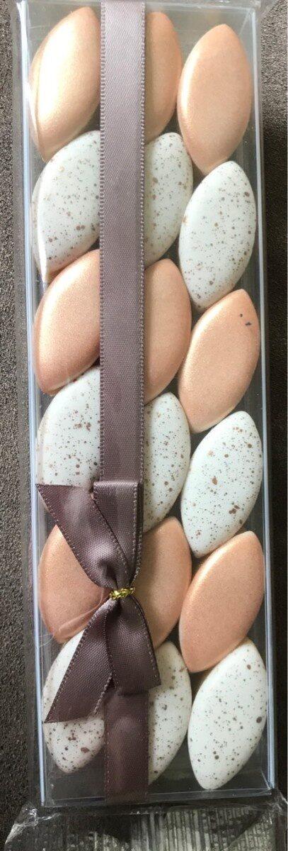 Calissons bronze et paillettes - Product