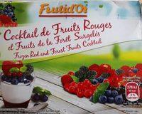 Cockt.fruits Rouges 600G, - Produit