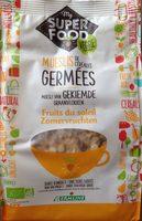 Muesli céréales germées fruits du soleil - Produit - fr