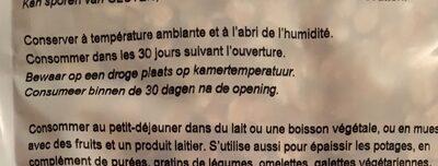 Flocons d'avoine germée - Ingredienti - fr