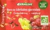 Barre de céréales germées cranberry - raisins - Product