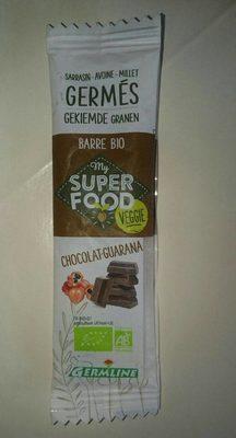 Barre Bio My Super Food Veggie chocolat guarana - Product - fr