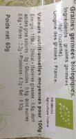 Alfalfa - Nutrition facts - fr