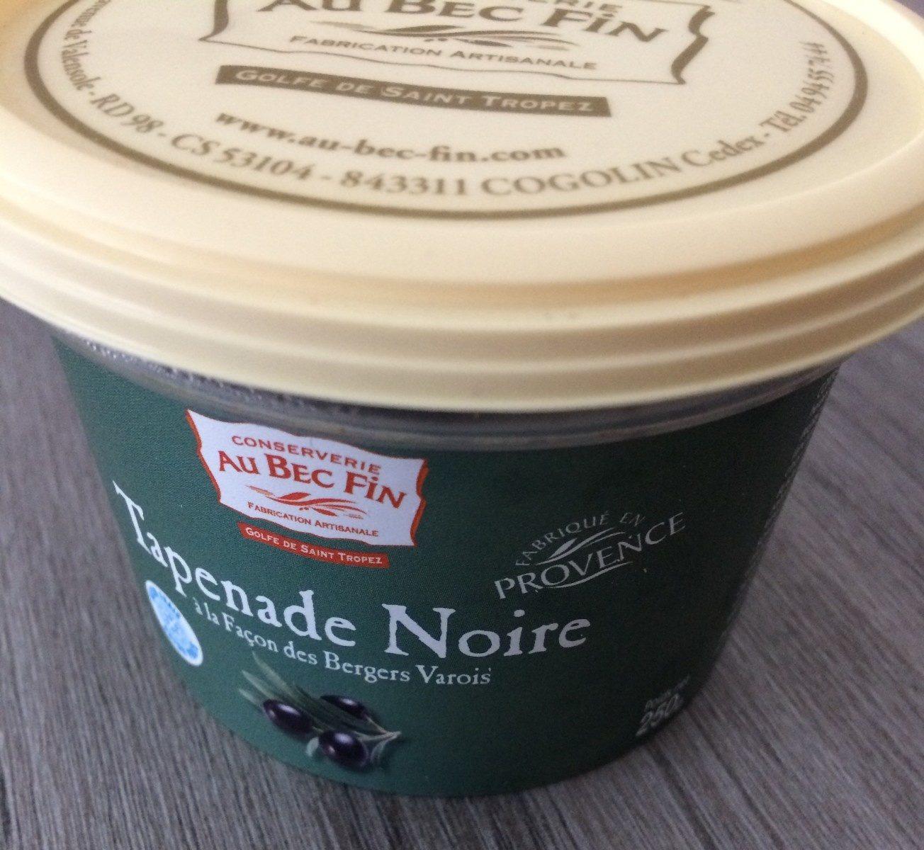 Tapenade noire facon des bergers Varois AU BEC FIN - Product