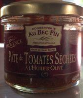 Pâte de tomate séchée à l'huile d'olive - Produit
