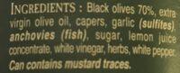 Tapenade - Ingredients - fr
