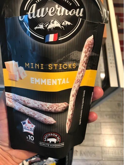 Mini Sticks Emmental - Product - fr