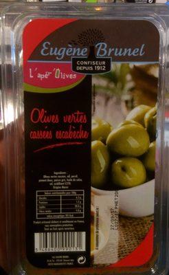 Olives Vertes Cassées Escabèche - Produit - fr
