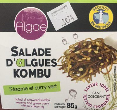 Sakade d'algues kombu - Product