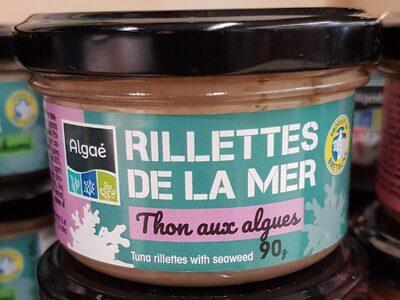 Rillettes de thon aux algues - Produit - fr