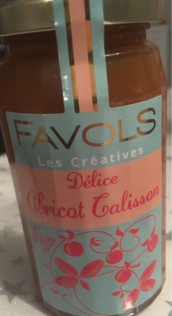 Delice abricot calisson - Product - fr