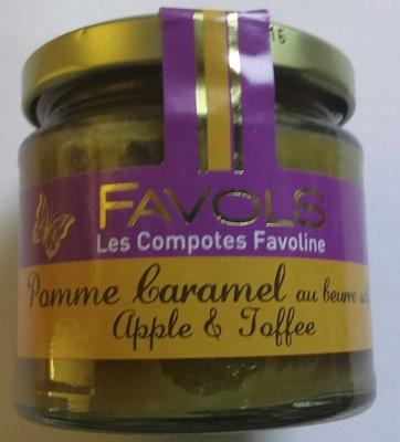 Pomme caramel au beurre salé - Produit