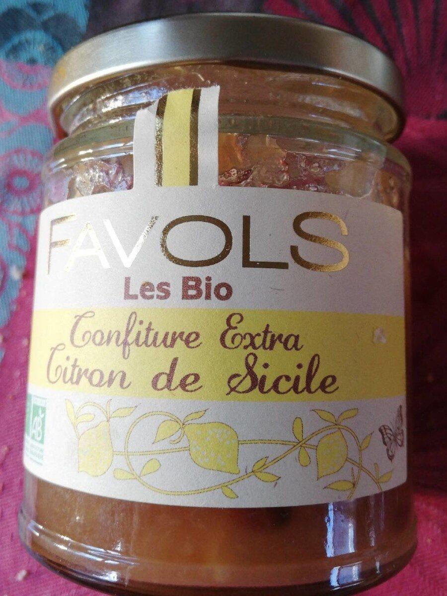 confiture extra citron de Sicile - Product