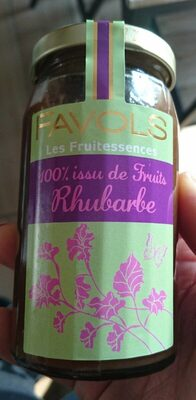 Confiture Rhubarbe - Product