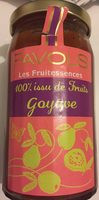 Confiture goyave - Produit