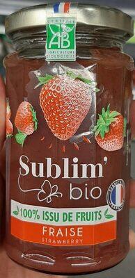 Sublim'bio fraise - Product - fr