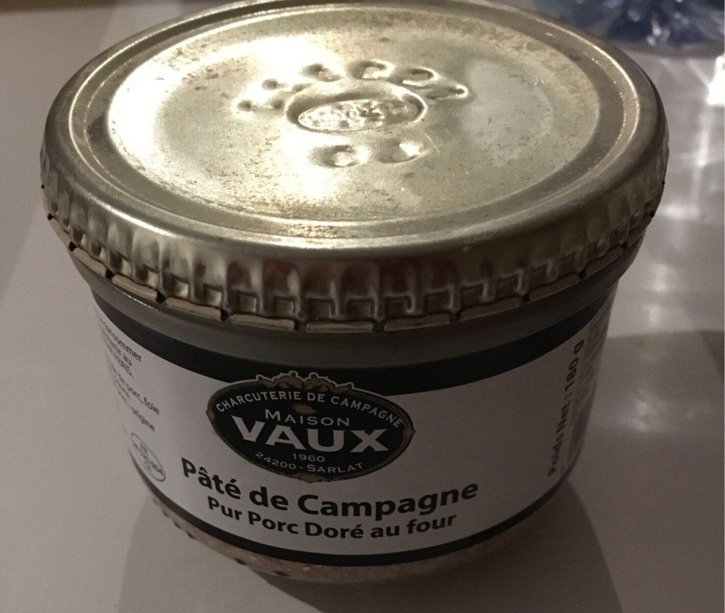 Paté de campagne - Product - fr