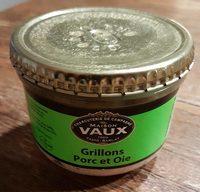 Grillons Porc et Oie - Product - fr