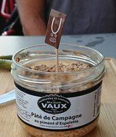 Pâté de campagne au piment d'espelette - Product - fr
