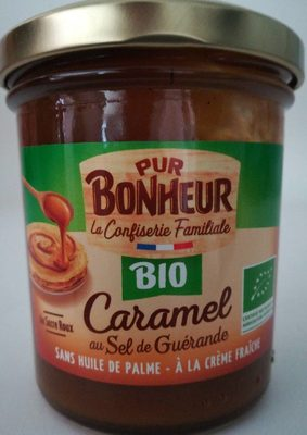 Caramel au sel de Guérande BIO - Product
