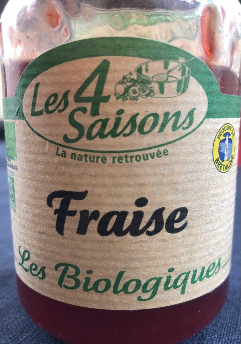 Conf 4 Saison Bio Fraise - Produit - fr