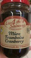 Mûre Framboise Cranberry - Produit - fr