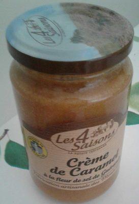 Crème de caramel à la fleur de sel de Guérande - Product