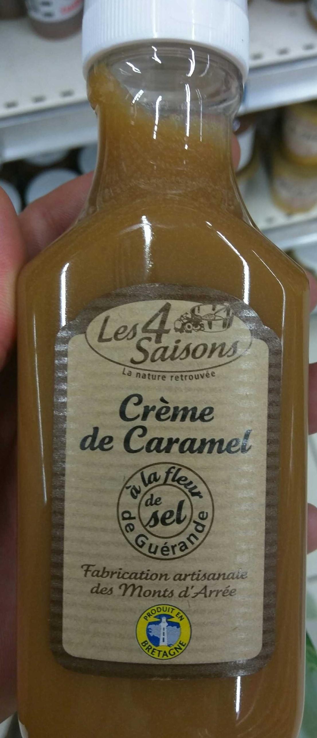 Crême de Caramel à la fleur de sel de Guérande - Product