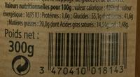 Crême de Caramel à la fleur de sel de Guérande - Voedingswaarden